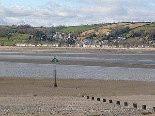 Llansteffan Human settlement in Wales