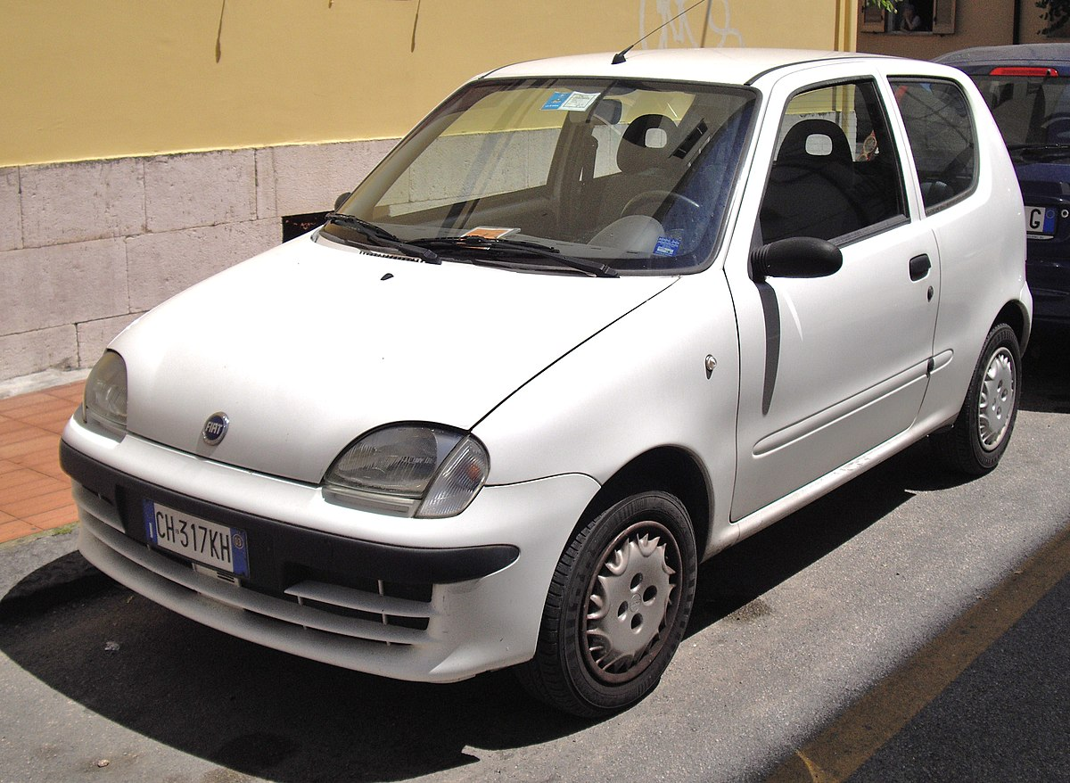 km voiture en at occasion used fiat of seicento