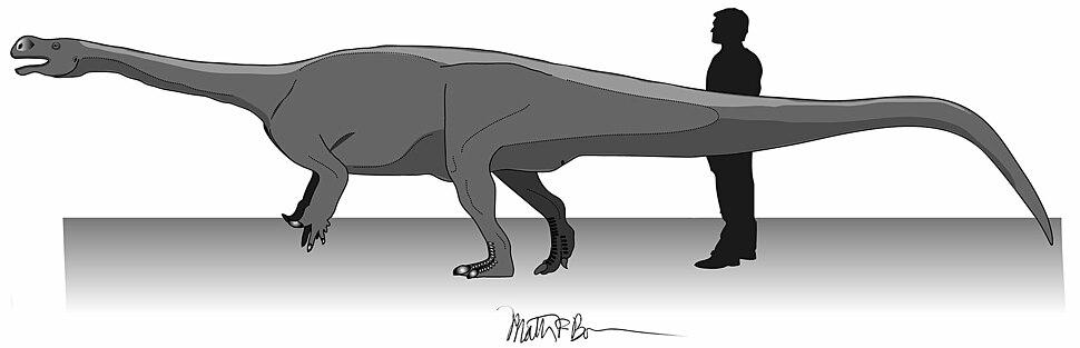 Fig 2 - Aardonyx life restoration by Matthew Bonnan