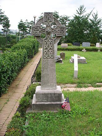 Charles Le Gendre - Charles Le Gendre's grave in Seoul, Korea