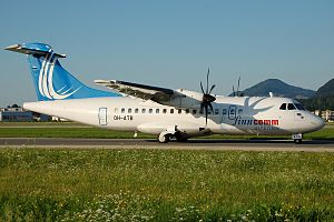 Finncomm Airlines - A Finncomm ATR 42. (2008)