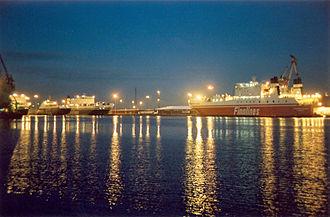 Finnlines - Finnlines ships in Helsinki in late 2004