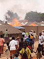 Fire in Parabongo IDP camp, Uganda.jpg