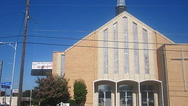 First Baptist Church, Weatherford, TX IMG 6464.JPG
