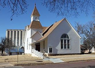 Tonkawa, Oklahoma - First Presbyterian Church of Tonkawa Courtesy of Jeffrey Beall. December 27, 2013