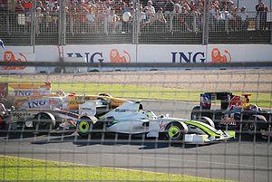2009 Australian Grand Prix - The first corner incident