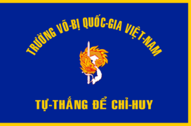 Flag of South Vietnamese National Military Academy.png