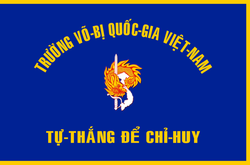 Tập tin:Flag of South Vietnamese National Military Academy.png