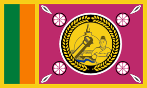 North Central Province, Sri Lanka - Image: Flag of the North Central Province (Sri Lanka)