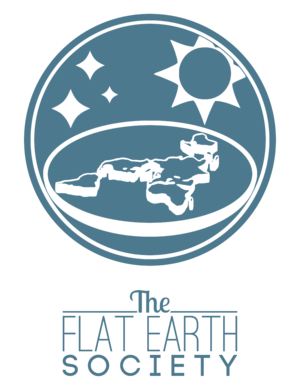 Modern flat Earth societies - Logo of the 2013 Flat Earth Society
