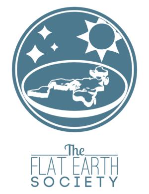 Modern flat Earth societies - Logo of the 2013 Flat Earth Society
