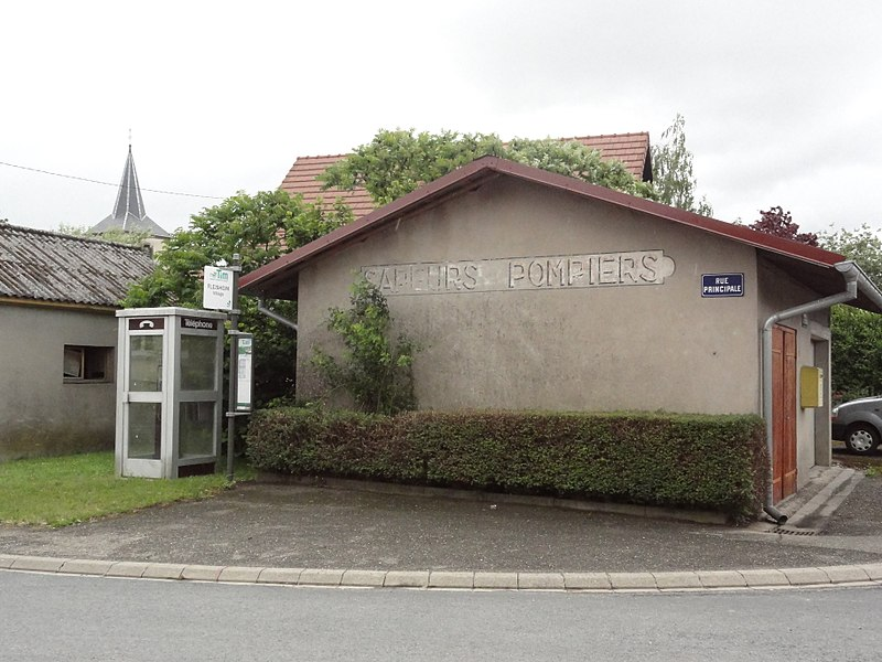 Fleisheim (Moselle) sapeurs-pompiers
