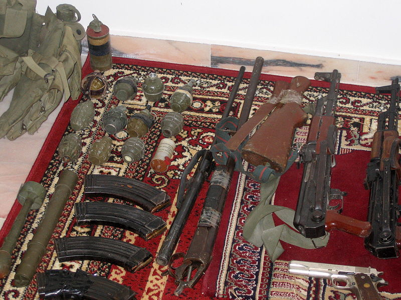 File:Flickr - Israel Defense Forces - Hezbollah Weaponry Found in Lebanon.jpg
