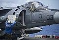 Flickr - Official U.S. Navy Imagery - Sailor assists AV-8B pilot..jpg