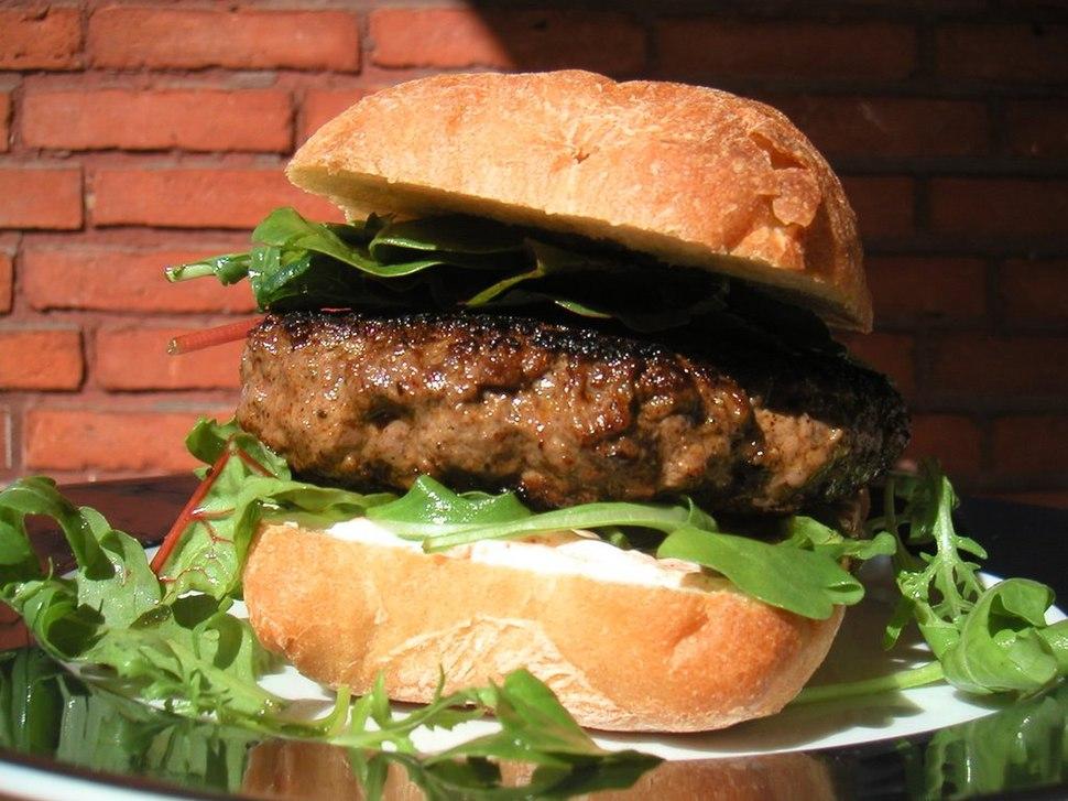 Flickr - cyclonebill - Burger