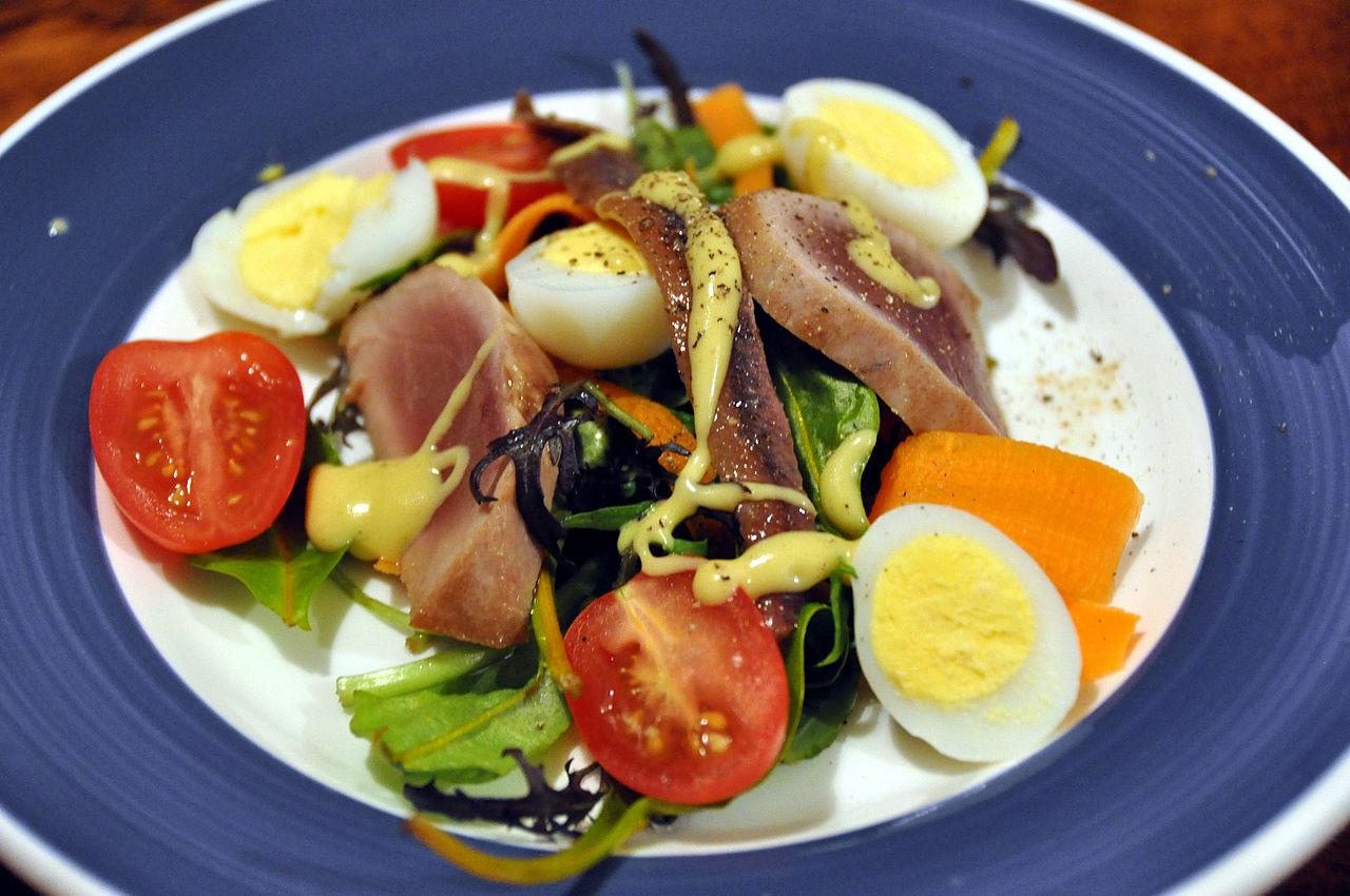 La tipica insalata molto ricca