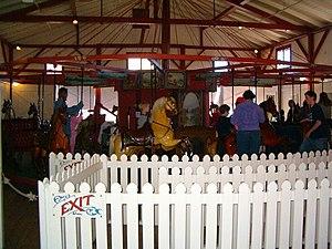 Flying Horses Carousel - The Flying Horses Carousel is the oldest operating platform carousel in America.
