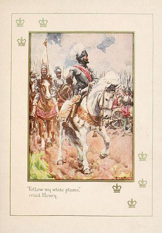 Battle of Ivry - Henry at Battle of Ivry