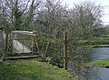 Footbridge across the Afon Teifi, near Llanddewi-Brefi, Ceredigion - geograph.org.uk - 1242476.jpg