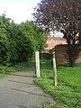 Footpath - Moor Lane - geograph.org.uk - 2662718.jpg