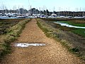 Footpath Bunny Meadows, Warsash - geograph.org.uk - 709742.jpg