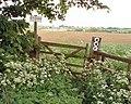 Footpaths cross - geograph.org.uk - 439099.jpg