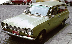 image illustrative de l'article Ford Escort