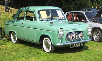 Ford Popular - Image: Ford Popular 1959 photo 2008 Castle Hedingham
