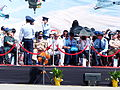 Foreign Military Attaches on Stand under Summer Sunlight 20130601.jpg
