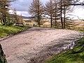 Forest Carpark south of Usk Reservoir - geograph.org.uk - 145854.jpg