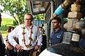 Former Foreign Minister Bob Carr visits to Samoa (10696222205).jpg