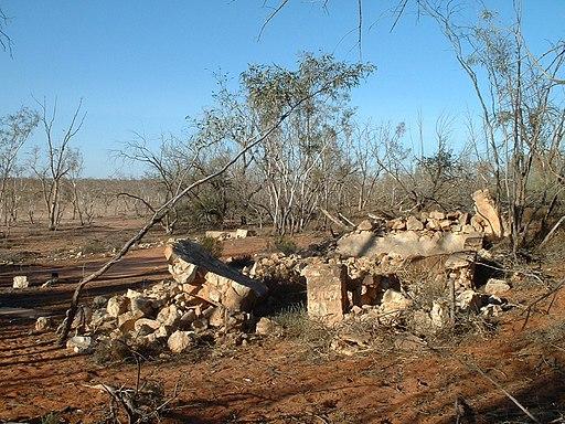 Fort Grey homestead ruins