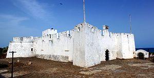 Fort Metal Cross - Fort Metal Cross, Dixcove, Western Region, Ghana, in May 2012
