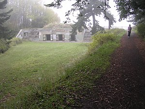 English: Battery Walker at Fort Worden, Port T...
