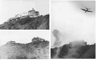 El Porteñazo - Bombardment of the Solano Castle during the Porteñazo.