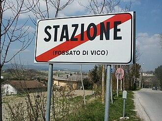 Fossato di Vico - Image: Fossatodivico