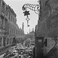 Das kriegszerstörte Dresden