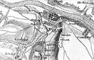 Siege of Pirna battle