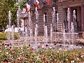 Fountain in front of Mairie of Illkirch - panoramio.jpg