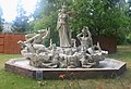 Fountain of Minerva Sculpture, Nickerson Residence, 2691 Hollywood Drive, Ann Arbor, Michigan - panoramio.jpg