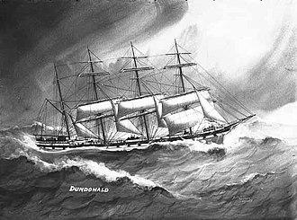 Dundonald (ship) - Painting of Dundonald