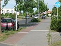 Frühere Beschilderung, Südseite Heinersdorfer Weg, Ecke Martin-Niemöller-Straße - panoramio.jpg