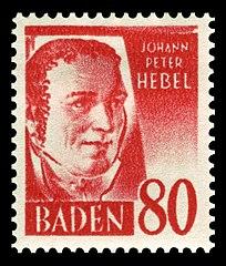 Resultado de imagem para Johann Peter Hebel,