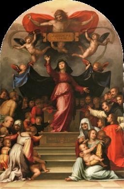 Fra bartolomeo - 07 Madonna della Misericordia
