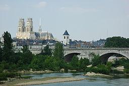Orléans og floden Loire