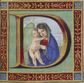 Francesco Marmitta - Initial D with Virgin and Child.png