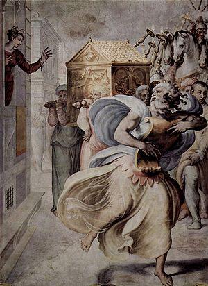 Michal - Francesco Salviati (c. 1553)