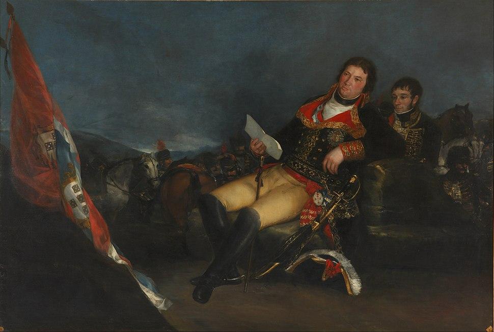 Francisco de Goya - Godoy como general - Google Art Project