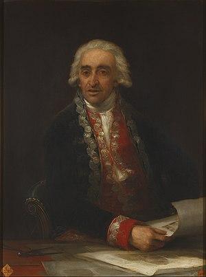 Juan de Villanueva - Portrait of Juan de Villanueva, by Francisco Goya. c. 1805. (Real Academia de Bellas Artes de San Fernando).