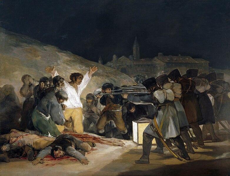 Súbor:Francisco de Goya y Lucientes - Los fusilamientos del tres de mayo - 1814.jpg